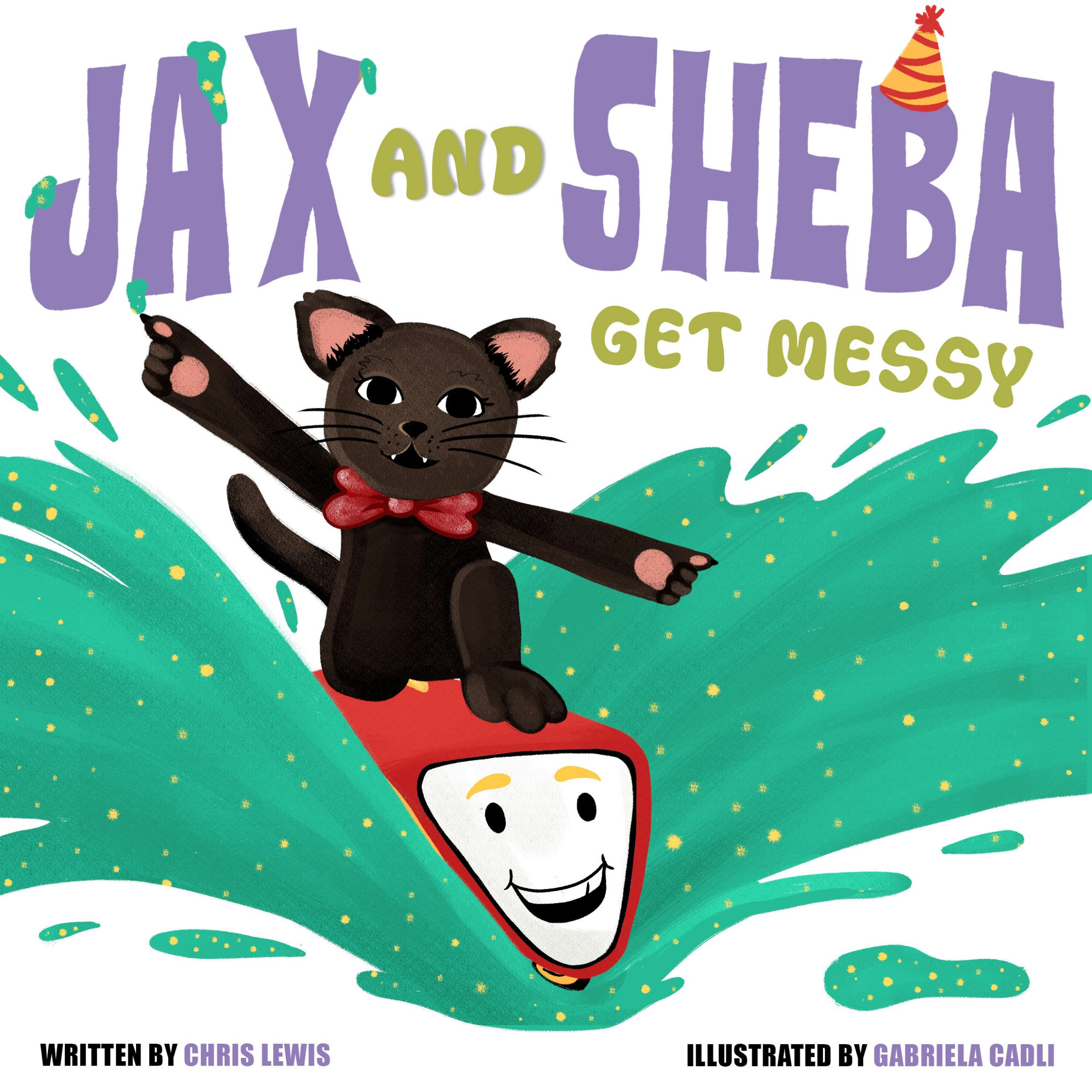 Jax and Sheba get Messy